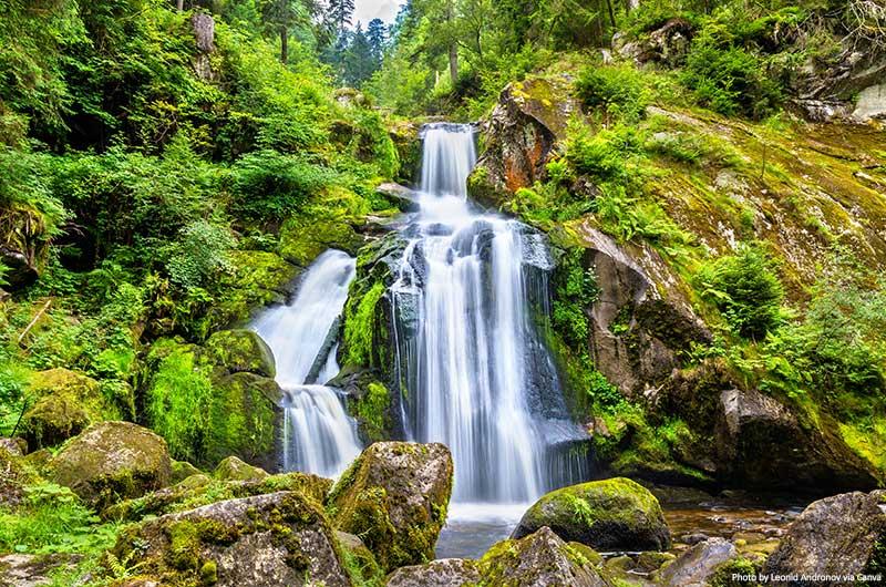 Triberg Falls, Floresta Negra, Alemanha
