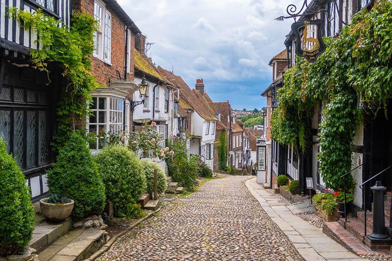 Mermaid Street, Rye, Inglaterra
