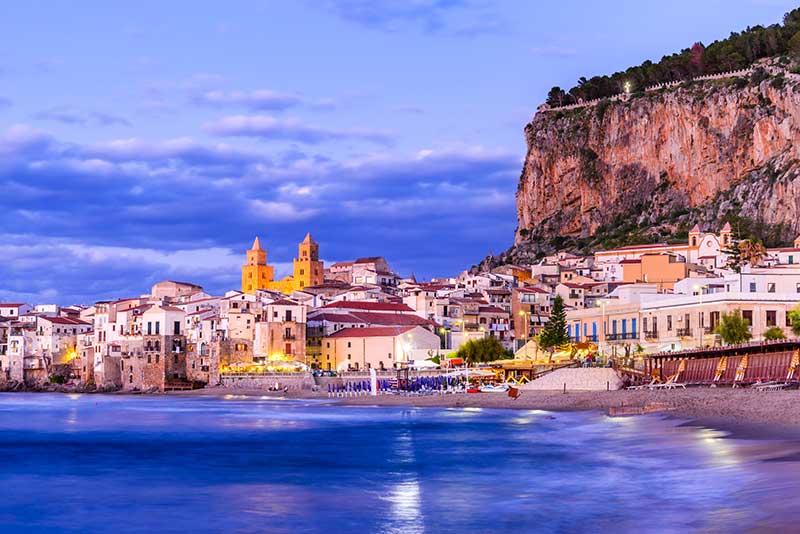 Horizonte de Cefalu, Sicília