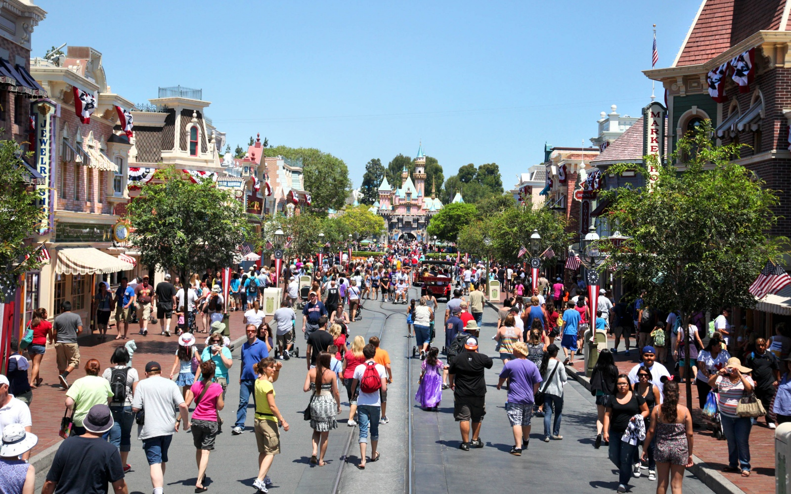 Disneyland Park Anaheim Ca - World -visited