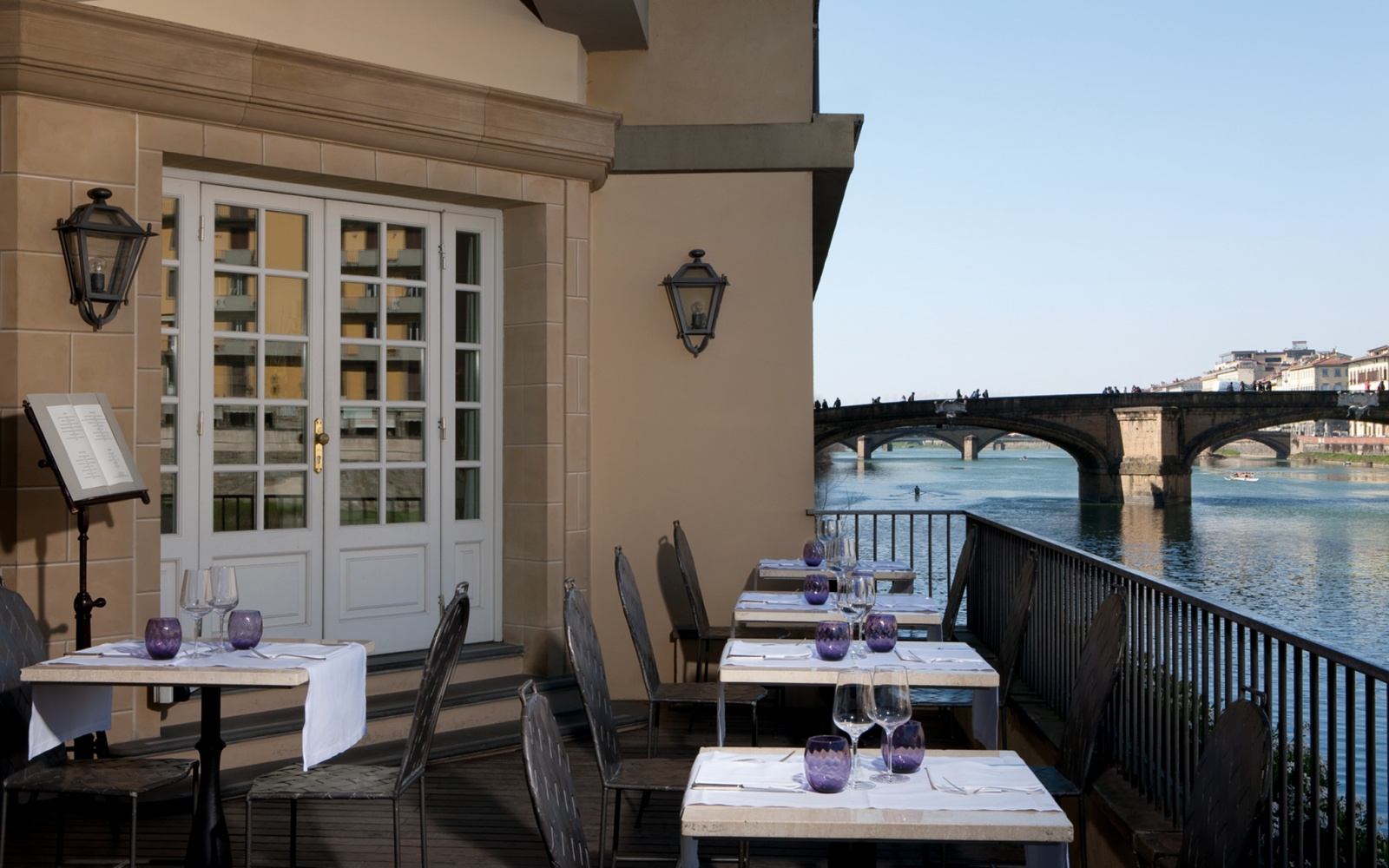 Arno River Florence Italy Hotels
