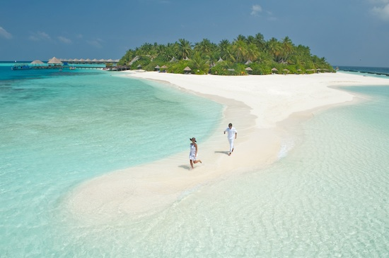 Vilu Reef in Maldives