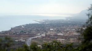 Socotra as cyclone Mekunu intensified