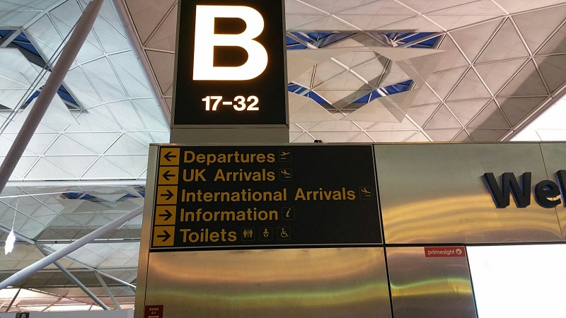 jak się zachować nalotnisku - Londyn Stansted