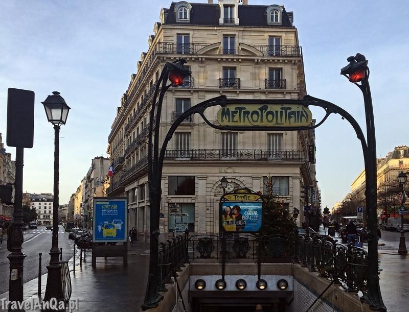 Paryż, metro