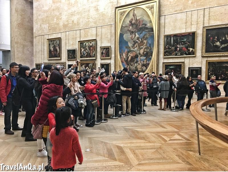 Paryż, Luwr, Mona Lisa