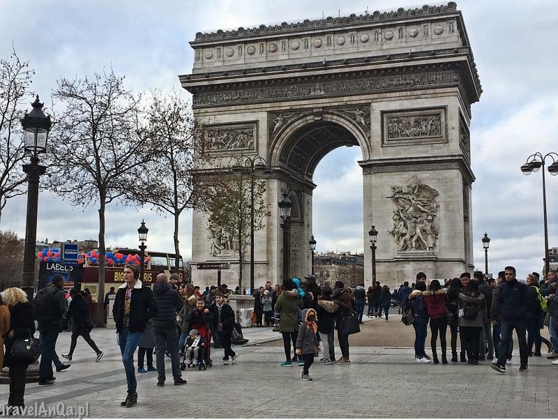 Paryż, Łuk Triumfalny