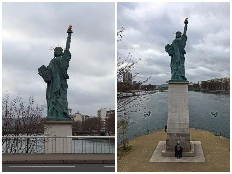 Paryż, Statua Wolności
