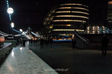 Londyn królewski trakt, City Hall