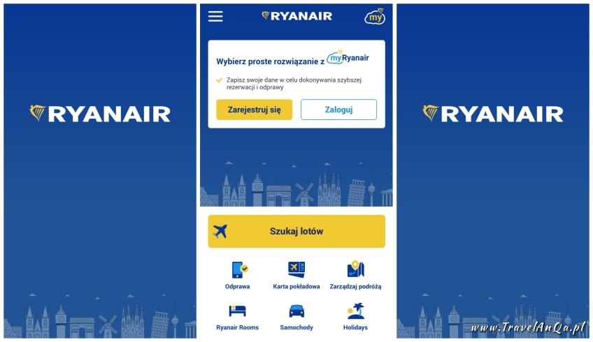 Aplikacje dla podróżników - Ryanair