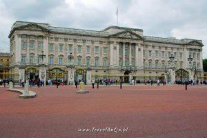 Londyn gotowa trasa zwiedzania dzień 2, Buckingham Palace, Londyn
