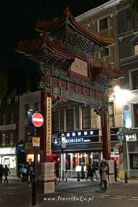 Londyn – gotowa trasa zwiedzania dzień 2 - China Town