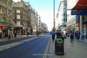 Londyn – gotowa trasa zwiedzania dzień 2 - Oxford Street