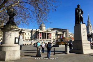 Londyn gotowa trasa zwiedzania dzień 2, Trafalgar Square