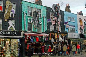 Londyn – gotowa trasa zwiedzania dzień 3 Camden Town