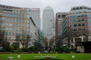 Londyn – gotowa trasa zwiedzania dzień 3 Canary Wharf