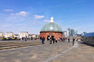 Londyn – gotowa trasa zwiedzania dzień 3 Greenwich Foot Tunnel