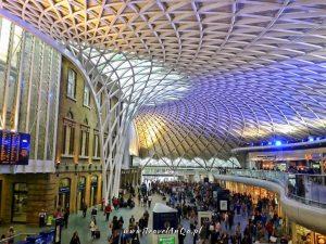 Londyn – gotowa trasa zwiedzania dzień 3 King's Cross
