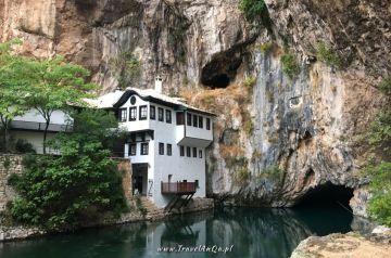 Blagaj Klasztor Derwiszów - Bośnia i Hercegowina