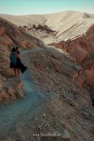 Ejlat Izrael - czerwony kanion