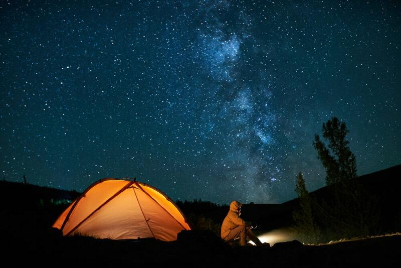 overnight camping Dubai
