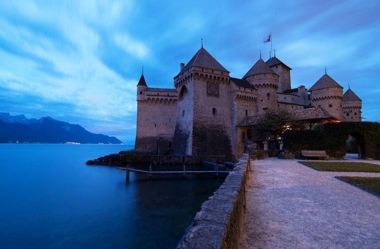 Chillon Castle history of love