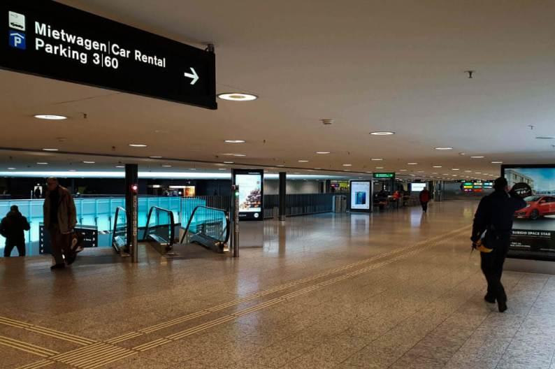 Auto huren Genève Airport Franse kant