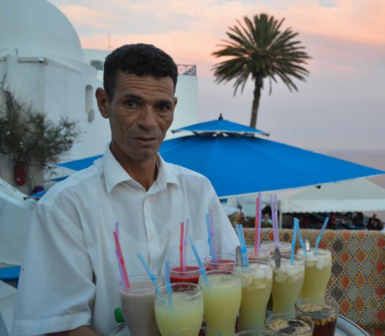 Hotspot: Café des Délices - Sidi Bou Saïd - Tunesië