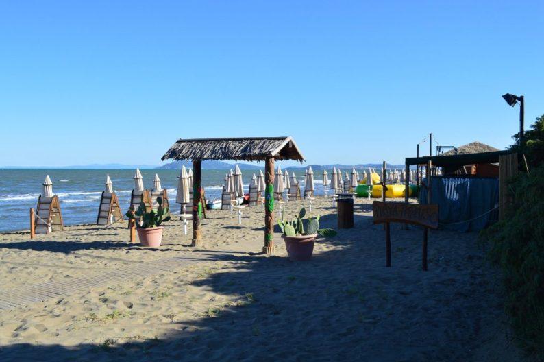 Camping Orbetello aan zee