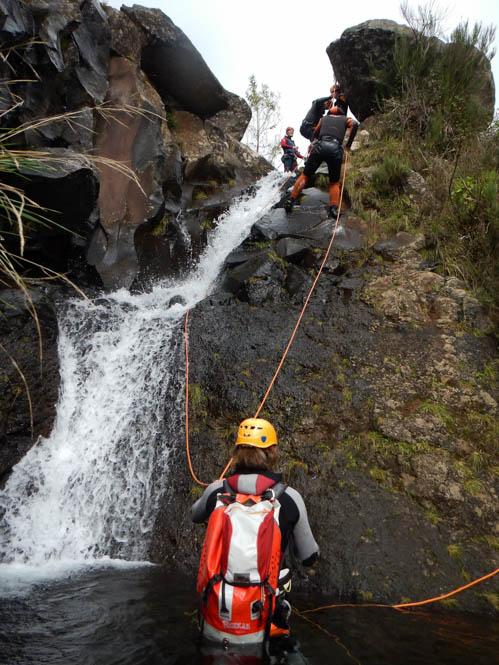 Abseilen - Canyoning - Madeira - Portugal