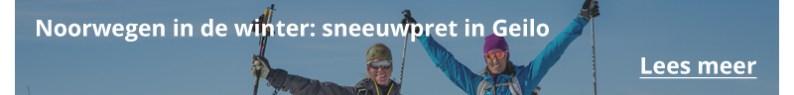 Wintersportvakantie in Noorwegen