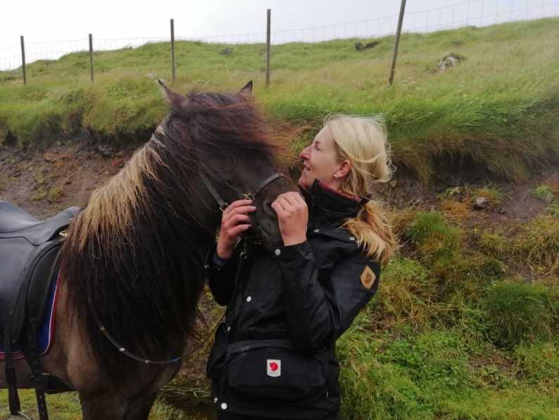 Horseriding Faroe Islands