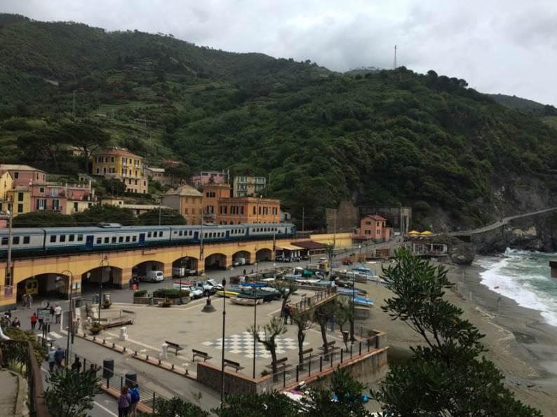 Het treinstation van Monterosso al Mare