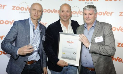 Uitreiking Zoover Award