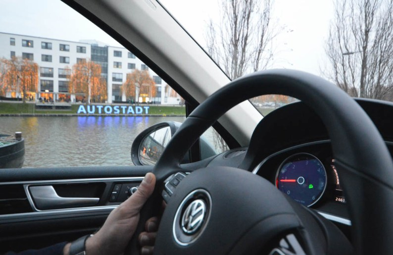 off-road track - Autostadt