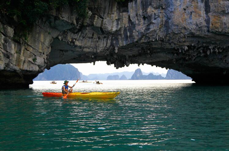 Activiteiten in Halong Bay