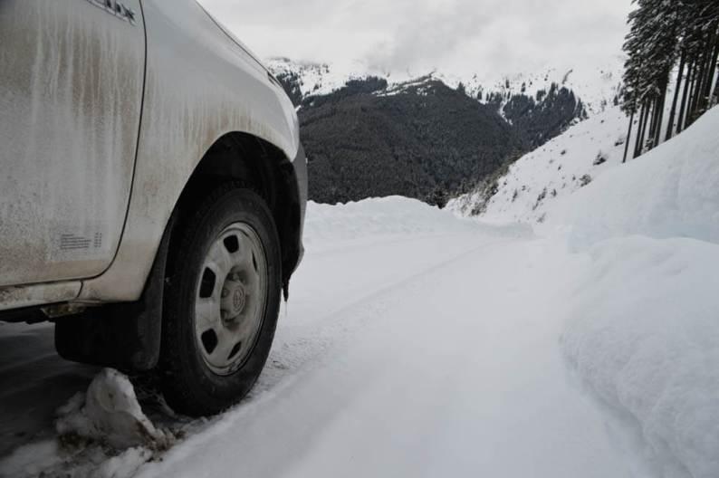 Auto huren met winterbanden