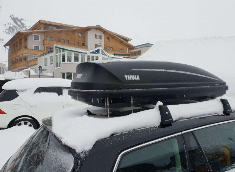 Paklijst wintersport met eigen auto