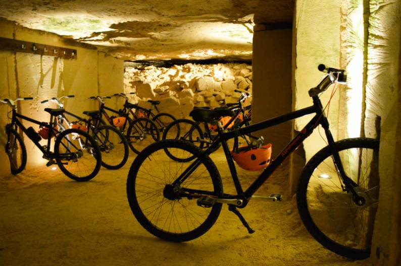 Mountainbiken grotten Valkenburg