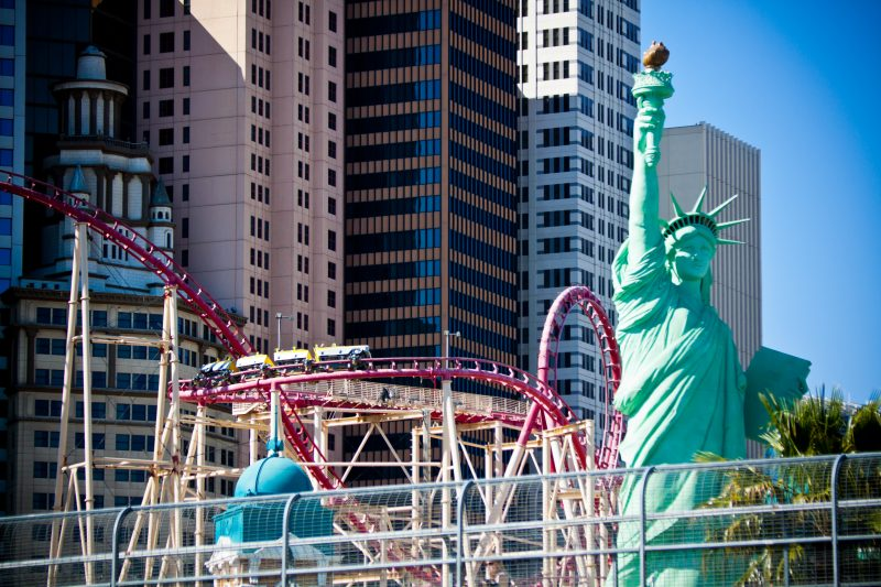 Las Vegas Strip - New York New York
