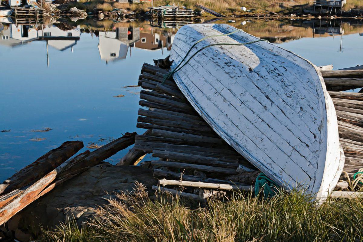 Quiet Morning on Fogo Island Newfoundland