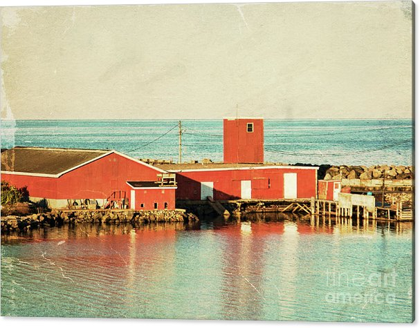 Dominion Fisheries Acrylic Print by Tatiana Travelways