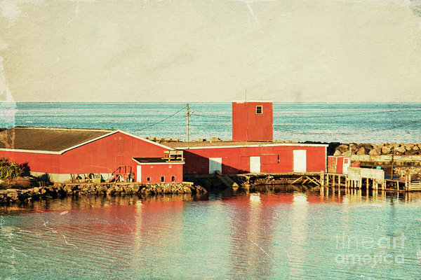 Dominion fisheries, Cape Breton, Nova Scotia - Vintage poster by Tatiana Travelways