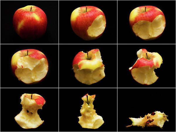 How to eat an apple in 9 easy steps by Tatiana Travelways