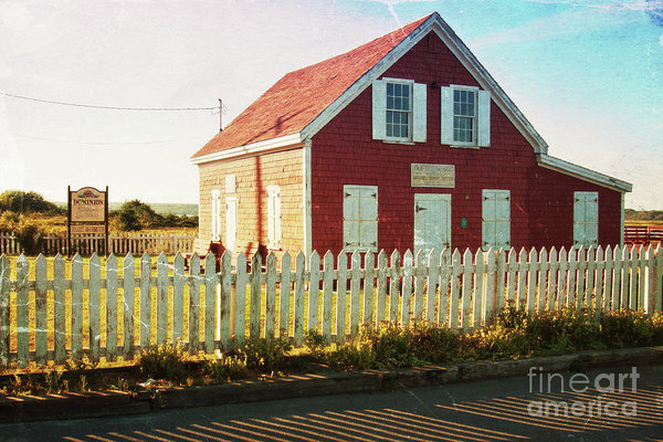 Dominion Cape Breton old school - vintage digital art by Tatiana Travelways