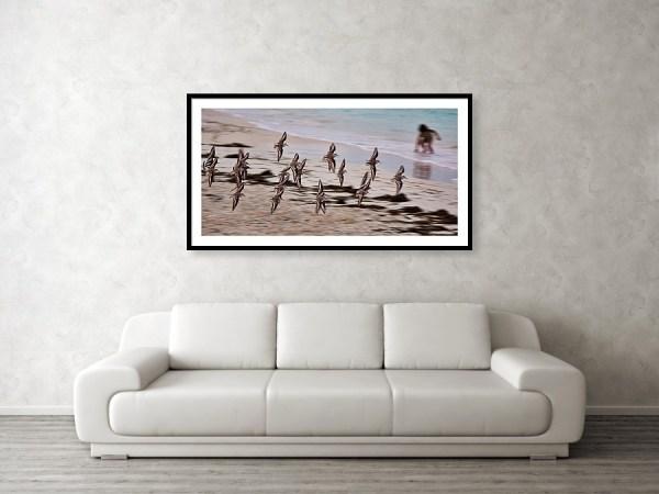 Ephemeral: Framed art print for wall decor