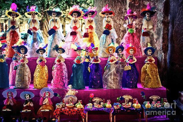 Mexican La Calavera Catrina and the Day of the Dead