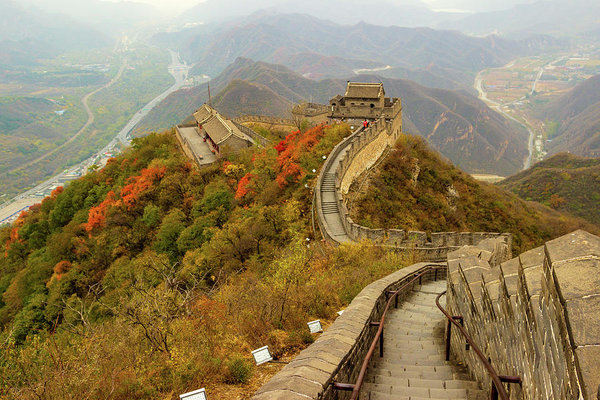 The Great Wall of China By Aashish Vaidya