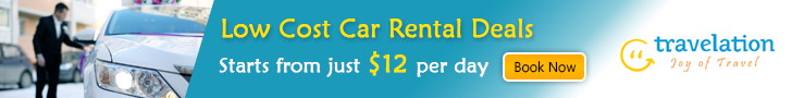 Low Cost Car Rentals. Starts from just $12 Per Day.