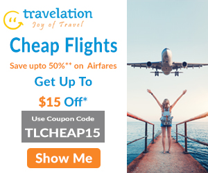 Cheap Flight Sale! Book Now & Get Up To $15 Off*. Use Coupon Code TLCHEAP15.